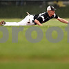 Beck Diefenbach  -  bdiefenbach@daily-chronicle.com<br /> <br /> Kaneland's Kyle Davidson (26) is unable to stop a ground ball during the fourth inning of the game against DeKalb at DeKalb High School in Dekalb, Ill., on Thursday May 20, 2010.