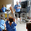 Rob Winner – rwinner@daily-chronicle.com<br /> <br /> Joe Herrmann teaches a group of students about emergency medical services at the DeKalb County Farm Safety Camp in Malta, Ill. on Wednesday June 23, 2010.