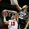 Chronicle File Photo<br /> <br /> Northern Illinois' Xavier Silas (13, left) is unable to shoot the ball while defended by Western Michigan's Donald Lawson (24) during the first half of the game at the Convocation Center at NIU in DeKalb, Ill., on Wednesday Jan. 13, 2010.