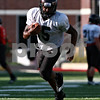 Beck Diefenbach  -  bdiefenbach@daily-chronicle.com<br /> <br /> Northern Illinois University's Jasmin Hopkins during practice at Huskie Stadium in DeKalb, Ill., on Wednesday Aug. 25, 2010.