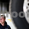 Beck Diefenbach  -  bdiefenbach@daily-chronicle.com<br /> <br /> Mechanic Norm Parker takes a break from working on a car's break system during Bockman's Auto Care's first day in their new location at 2158 Oakland Dr. in Sycamore on Monday March 29, 2010.