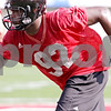 Beck Diefenbach - bdiefenbach@daily-chronicle.com<br /> <br /> Northern Illinois defensive tackle Brian Lawson during the first practice at Huskie Stadium in DeKalb, Ill., on Thursday Aug. 5, 2010.