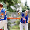 Rob Winner – rwinner@daily-chronicle.com<br /> <br /> Genoa-Kingston outfielder Laura Volkening catches a pop fly in the sixth inning during the IHSA Class 2A Byron Regional final against Stillman Valley in Byron, Ill. on Saturday May 22, 2010. Stillman Valley went on to defeat Genoa-Kingston, 5-2, ending their season.