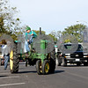 Rob Winner – rwinner@daily-chronicle.com<br /> <br /> Before the start of a tractor run, Genoa resident Arden Awe backs a 1945 John Deere tractor into a parking space on Main Street in Genoa, Ill. on Saturday September 25, 2010 during the Harvest Moon Festival.