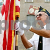 Rob Winner – rwinner@daily-chronicle.com<br /> <br /> John Anderson prepares for a Memorial Day ceremony at Memorial Park on Monday May 31, 2010 in DeKalb, Ill.