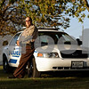 Beck Diefenbach – bdiefenbach@daily-chronicle.com<br /> <br /> Waterman Police Chief Chuck Breese with the department's new police car.