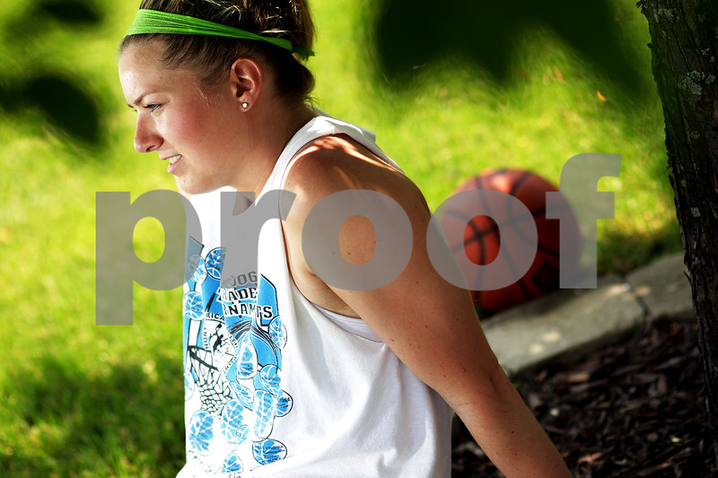 Beck Diefenbach  -  bdiefenbach@daily-chronicle.com<br /> <br /> Hinckley-Big Rock's Jenna Thorp is the Daily Chronicle's 2009-2010 Female Athlete of the Year., Ill., on Monday May 24, 2010.