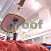 Kyle Bursaw – kbursaw@daily-chronicle.com<br /> <br /> Jessica Morreale, a senior on the DeKalb gymnastics team, flips off of the vault and into a pit of foam blocks at Energym in Sycamore, Ill. on Tuesday, Dec. 21, 2010.