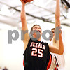 Beck Diefenbach - bdiefenbach@daily-chronicle.com<br /> <br /> DeKalb's Pat Rourke (25) shoots the ball during the first quarter of the sectional championship game against Oswego at Hampshire High School in Hampshire, Ill., on Friday March 12, 2010. Oswego defeated DeKalb 57 to 51, ending the Barb's season.
