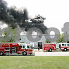 Rob Winner – rwinner@daily-chronicle.com<br /> <br /> Firefighters respond to a chemical fire at Right Pointe Company located at 234 Harvestore Drive in DeKalb, Ill. on Wednesday July 21, 2010.