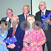 By Nicole Weskerna, nweskerna@daily-chronicle.com<br /> <br /> Six individuals were honored Thursday for outstanding service to their communities during the annual Tribute to Heroes ceremony. Pictured are (bottom left) Doris Boey, Robert Boey, Betty Koehling, (top left) Tom Thomas, Mike Larson and Gordon Koehling.