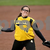 Rob Winner – rwinner@daily-chronicle.com<br /> <br /> Sycamore pitcher Abby Foulk delivers a pitch during the second inning of Friday night's game against DeKalb.