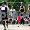 Rob Winner – rwinner@daily-chronicle.com<br /> <br /> Kishwaukee Valley Storm base runner Kendra Buchholz (96) heads for home after her teammate Keri Groen (19) scored during their 14U bracket game against the Fox Valley Renegades at the Storm Dayz softball tournament on Saturday June 26, 2010 in Sycamore, Ill.