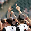 Beck Diefenbach  -  bdiefenbach@daily-chronicle.com<br /> <br /> The DeKalb baseball team regroups before the start of the seventh inning of the IHSA Class 3A State Semifinal Game against Marian Central in Joliet, Ill., on Friday June 11, 2010.