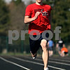 Rob Winner – rwinner@daily-chronicle.com<br /> <br /> Kaneland senior Logan Markuson runs the track during practice in Maple Park, Ill. on Thursday April 1, 2010.
