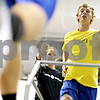 Beck Diefenbach  -  bdiefenbach@daily-chronicle.com<br /> <br /> Nick Anderson, quarterback for University of Wisconsin - Platteville, runs on the treadmill during training at Athletic Republic in Dekalb, Ill., on Thursday July 15, 2010.