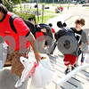 Rob Winner  -  rwinner@daily-chronicle.com<br /> <br /> Incoming freshman Dino Depersio (right), of Deerfield, is helped by fellow Northern Illinois students while moving his belongings into South Grant Towers at NIU in DeKalb, Ill. on Thursday August 19, 2010.