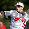 Beck Diefenbach  -  bdiefenbach@daily-chronicle.com<br /> <br /> Northern Illinois pitcher Chuck Lukanen (18) winds up during the second inning of the game against Ohio at NIU in DeKalb, Ill., on Friday April 16, 2010.