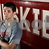 "Rob Winner – rwinner@daily-chronicle.com<br /> Dan Ruettiger, nephew of ""Rudy"" Ruettiger, is the lone senior on the Northern Illinois wrestling team.<br /> <br /> DeKalb, Ill.<br /> February 18, 2010"