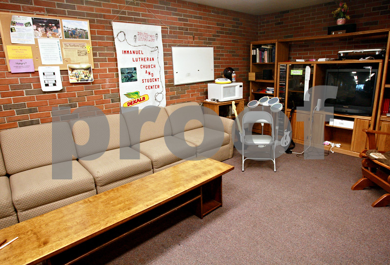 Beck Diefenbach  -  bdiefenbach@daily-chronicle.com<br /> <br /> The student lounge at Immanuel Lutheran Church in DeKalb, Ill.