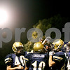 Rob Winner – rwinner@daily-chronicle.com<br /> <br /> With only 13 seconds to go in the first half the Hiawatha football team gathers near the sidelines during their game against Rockford Christian Life on Friday September 24, 2010 in Kirkland, Ill.