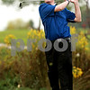 Beck Diefenbach – bdiefenbach@daily-chronicle.com<br /> <br /> Hinckley-Big Rock's Luke Winkle tees off on the 17th hole during the Little 10 Conference Meet at the Hughes Creek Golf Course in Elburn, Ill., on Wednesday Sept. 22, 2010.