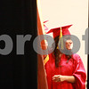 Kyle Bursaw – kbursaw@daily-chronicle.com<br /> <br /> A member of the NIU graduation ceremonies waits to walk out from behind the curtains at the Convocation Center in DeKalb, Ill. on Sunday, Dec. 12, 2010.