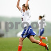 Beck Diefenbach/ The Daily Chronicle bdifeenbach@daily-chronicle.com<br /> <br /> Genoa-Kingston Julia Mendoza (33) rejoices after scoring a goal during the second half of the game against Galena at G-K High School in Genoa, Ill., on Tuesday May 11, 2010. G-K defeated Galena 8 to 1.