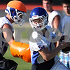 Rob Winner – rwinner@daily-chronicle.com<br /> <br /> Craig Billington looks down the field during the Cogs' morning practice on Thursday August 12, 2010 in Genoa, Ill.