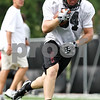 Rob Winner – rwinner@daily-chronicle.com<br /> <br /> Kyle Skarb holds onto a pass during practice on Friday August 13, 2010 at Huskie Stadium in DeKalb, Ill.