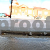 Rob Winner – rwinner@daily-chronicle.com<br /> The sidewalk in front of the post office in Sycamore has supposedly shifted some after Wednesday morning's earthquake.<br /> 02/10/2010