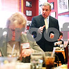 Beck Diefenbach  -  bdiefenbach@daily-chronicle.com<br /> <br /> Sen. Dick Durbin speaks with community leaders during a luncheon at Johnny's Charhouse in Sycamore, Ill., on Tuesday Jan. 5, 2009.