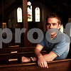 Beck Diefenbach  -  bdiefenbach@daily-chronicle.com<br /> <br /> Third year seminarian, Andy Tyrrell, is trying to connect with youth during his internship at St. John's Lutheran Church in Somonauk, Ill.