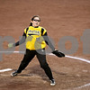 Rob Winner – rwinner@daily-chronicle.com<br /> <br /> Sycamore pitcher Abby Foulk delivers a pitch in the top of the third inning. Foulk, a freshman, struck out nine while allowing four hits before being relieved by Nekoda Garbes.