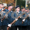 Kyle Bursaw — kbursaw@daily-chronicle.com<br /> <br /> Seven veterans fire a twenty-one gun salute during a Veteran's Day ceremony at Memorial Park at the intersection of First Street and Lincoln Highway in DeKalb, Ill. on Nov. 11, 2010.