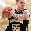 Beck Diefenbach - bdiefenbach@daily-chronicle.com<br /> <br /> Kaneland's Dave Dudzinski grabs a rebound during the second quarter of the IHSA Class 3A Regional championship game against DeKalb at Kaneland High School in Maple Park, Ill., on Friday March 3, 2010.