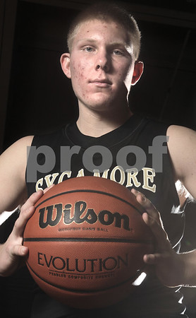 Kyle Bursaw - kbursaw@daily-chronicle.com<br /> <br /> Sycamore basketball player Brendan Biffany is one of the Daily Chronicle's players to watch.<br /> <br /> shot in Sycamore, Ill. on 11/06/10