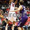 Rob Winner – rwinner@daily-chronicle.com<br /> <br /> NIU guard Tony Nixon takes a shot during the first half in DeKalb, Ill. on Friday November 12, 2010.