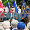"Rob Winner – rwinner@daily-chronicle.com<br /> <br /> Jules D. ""Butch"" Spindler, the Illinois VFW State Commander, addresses residents at Oak Crest during a Memorial Day ceremony on Monday May 31, 2010 in DeKalb, Ill."