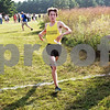 Beck Diefenbach  -  bdiefenbach@daily-chronicle.com<br /> <br /> Sycamore's Riley Powers crosses the finish line at the Sycamore Invitational event at Kishwuakee Community College in Malta, Ill., on Tuesday Aug. 31, 2010.