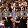 Beck Diefenbach  -  bdiefenbach@daily-chronicle.com<br /> <br /> Dekalb's student section celebrates a turnover during the second quarter of the game at DeKalb High School in DeKalb, Ill., on Friday Jan. 8, 2010.