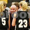 Rob Winner – rwinner@daily-chronicle.com<br /> <br /> Kaneland coach Ernie Colombe talks to his players during a timeout in the second quarter on Friday December 10, 2010 in Sycamore, Ill.