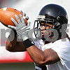Beck Diefenbach - bdiefenbach@daily-chronicle.com<br /> <br /> Northern Illinois wide receiver Furqan Muhammad during the first practice at Huskie Stadium in DeKalb, Ill., on Thursday Aug. 5, 2010.