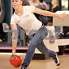 Beck Diefenbach  -  bdiefenbach@daily-chronicle.com<br /> <br /> DeKalb sophomore Alyssa Mershon releases her ball during bowling practice at Mardi Gras Lanes in DeKalb, Ill., on Tuesday Feb. 9, 2010.