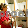 Rob Winner  -  rwinner@daily-chronicle.com<br /> <br /> TAILS Humane Society volunteer Carol Smith spends time with a few of the cats up for adoption on Wednesday August 25, 2010 in DeKalb, Ill.