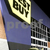Rob Winner – rwinner@daily-chronicle.com<br /> <br /> Black Friday shoppers pitched tents at the Best Buy in DeKalb on Thursday evening.