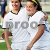 Rob Winner – rwinner@daily-chronicle.com<br /> <br /> Sycamore's Katie Bolander (left) and Briana Henke hug at the end of the IHSA Class 2A Barrington Super-Sectional on Tuesday June 1, 2010 in Barrington, Ill. Saint Viator defeated Sycamore, 3-0.