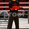 Beck Diefenbach – bdiefenbach@daily-chronicle.com<br /> <br /> Northern Illinois Women's basketball head coach Kathi Bennett runs her team's first practice of the season at NIU's Convocation Center in DeKalb, Ill., on Monday Oct. 4, 2010.