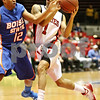 Rob Winner – rwinner@daily-chronicle.com<br /> <br /> Northern Illinois forward Bryan Hall goes to the basket during the first half in DeKalb, Ill. on Monday November 29, 2010.