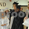 Kaneland graduates proceed down the the hallway to the gym for their commencement ceremony on Sunday, May 30, 2010 in Maple Park, Ill. (Marcelle Bright/for the Chronicle)